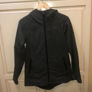Columbia hooded soft shell jacket